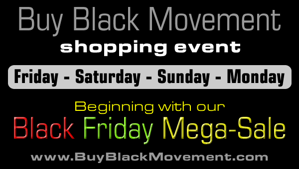 Buy Black Movement Shopping Event