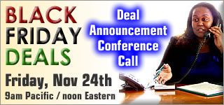 Buy Black Friday Doorbuster Deal Conference Call