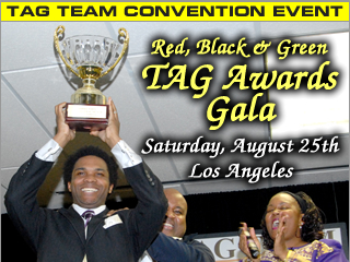 Red, Black & Green TAG Awards Gala