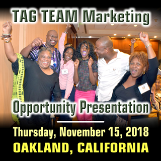 TAG TEAM Opportunity Presentation - Oakland