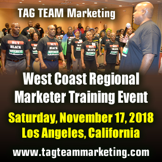 TAG TEAM West Coast Regional Training Event