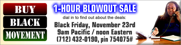 Buy Black Movement One Hour Blowout Sale