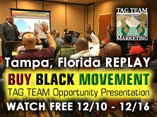 Tampa, Florida TAG TEAM Opportunity Presentation REPLAY
