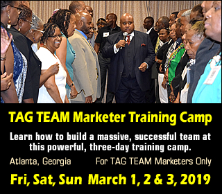 TAG TEAM Marketer Training Camp 2019