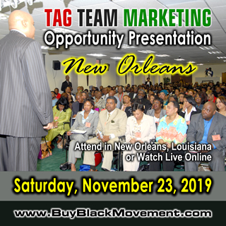 TAG TEAM Marketing Opportunity Presentation - New Orleans, Louisiana