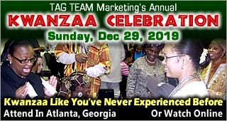 TAG TEAM Kwanzaa Celebration