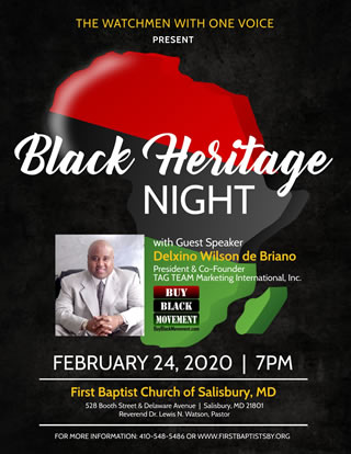 Black Heritage Night In Salisbury
