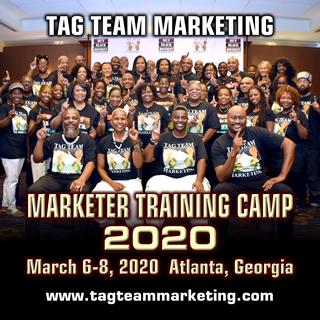 TAG TEAM Marketer Training Camp 2020