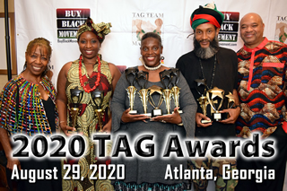 2020 Red, Black & Green TAG Awards Gala