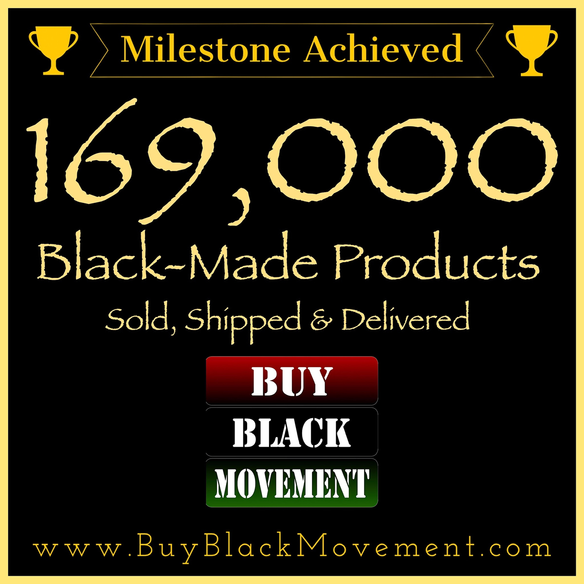 169,000 Products Sold