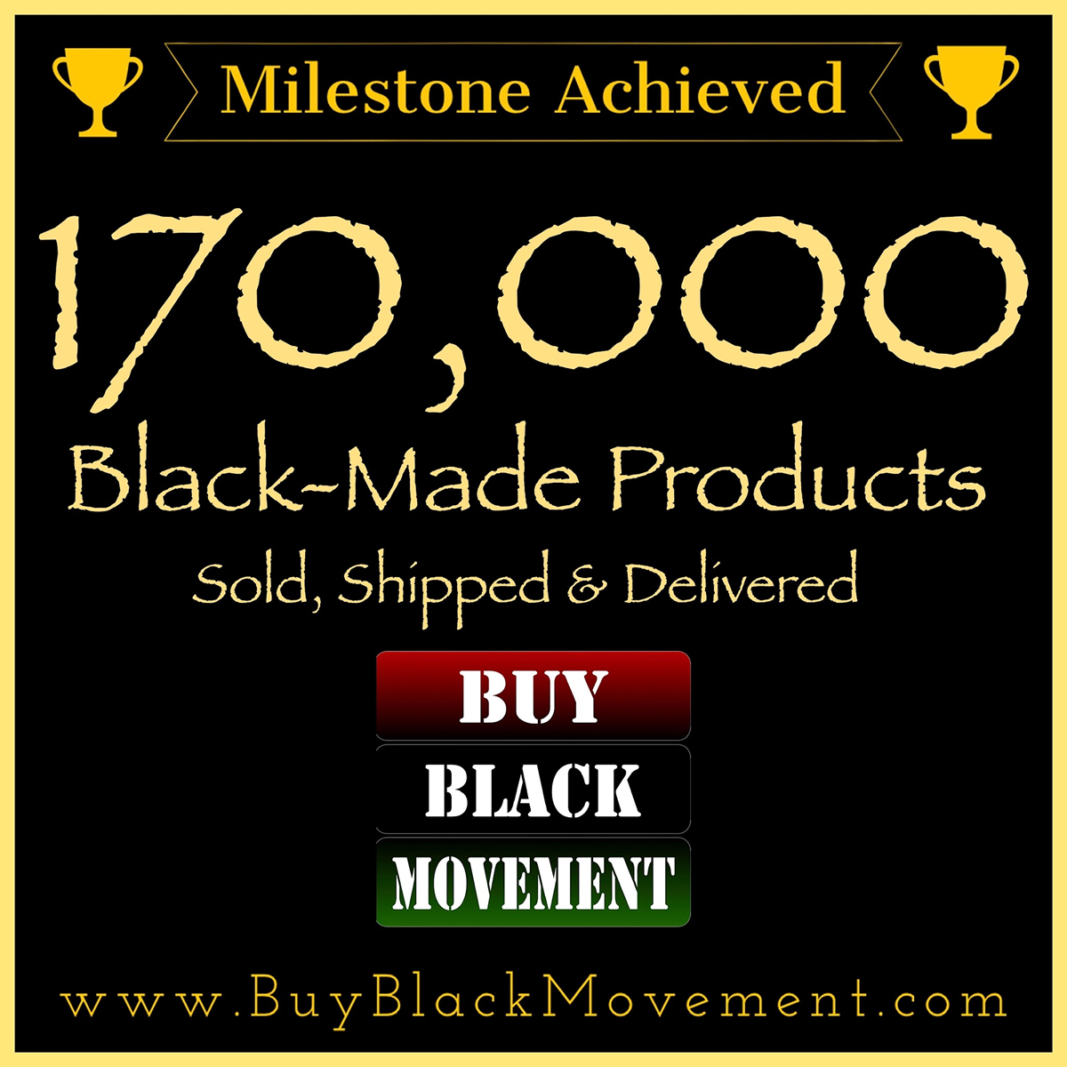170,000 Products Sold