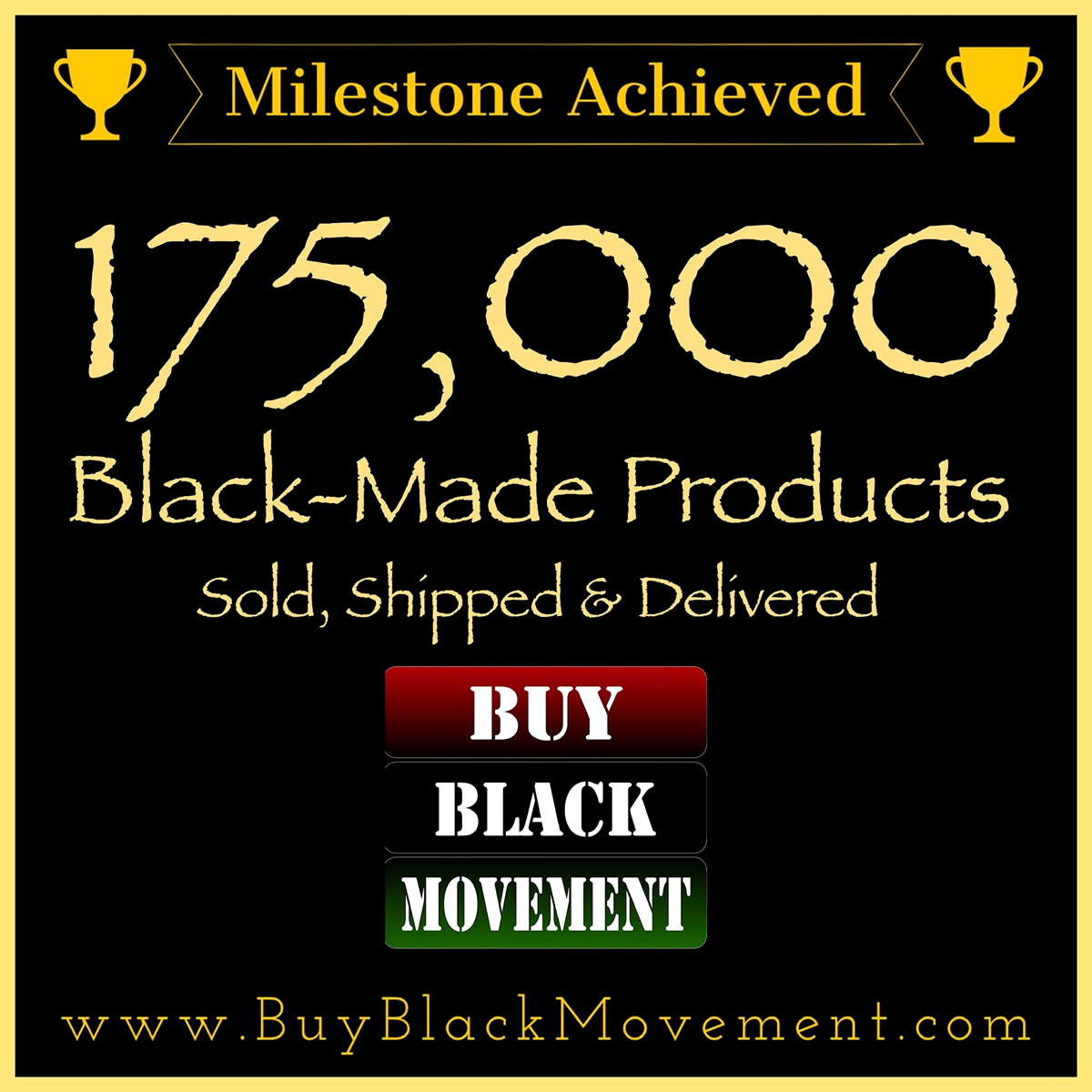 175,000 Products Sold