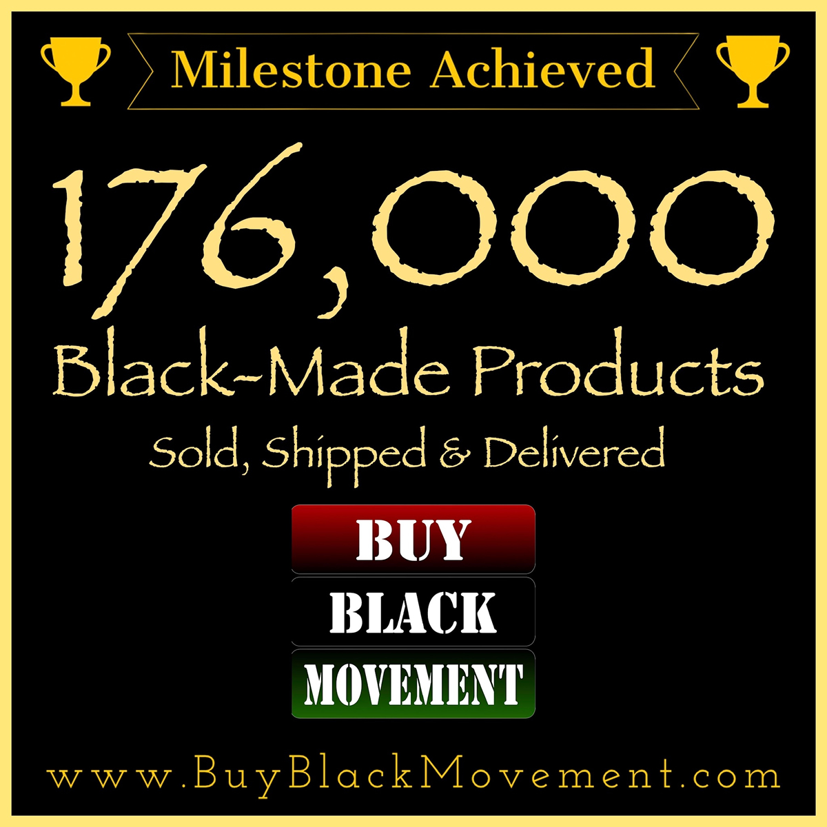 176,000 Products Sold