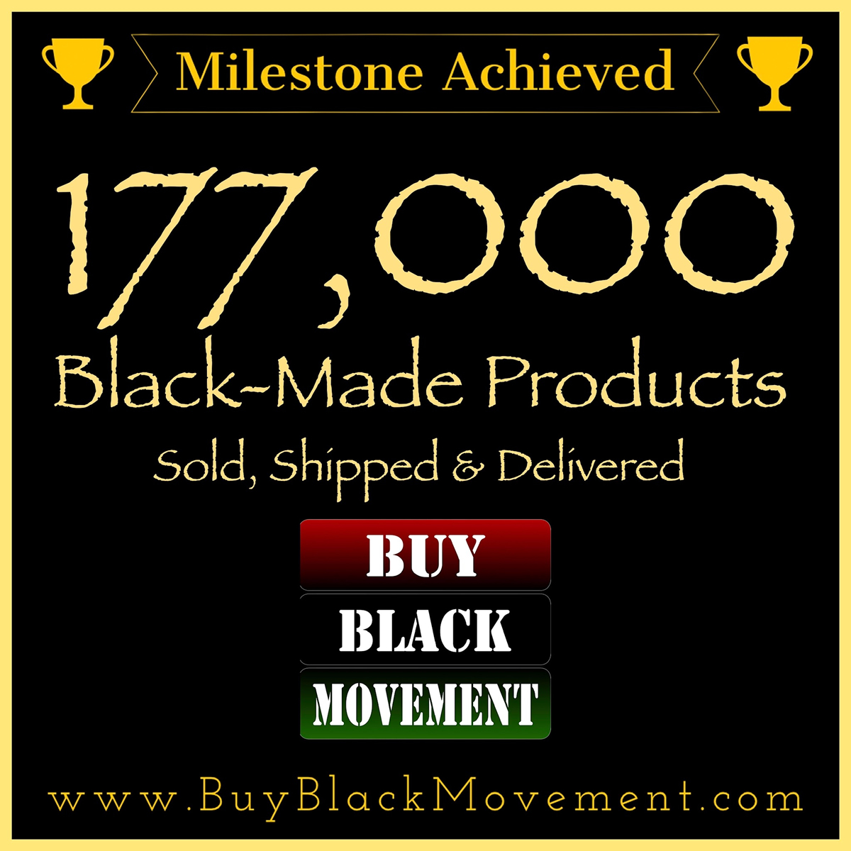 177,000 Products Sold