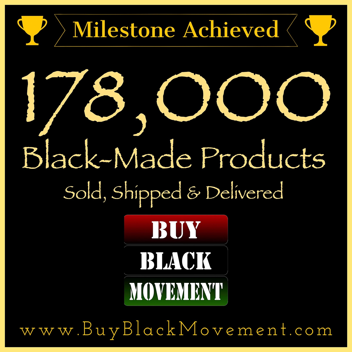 178,000 Products Sold