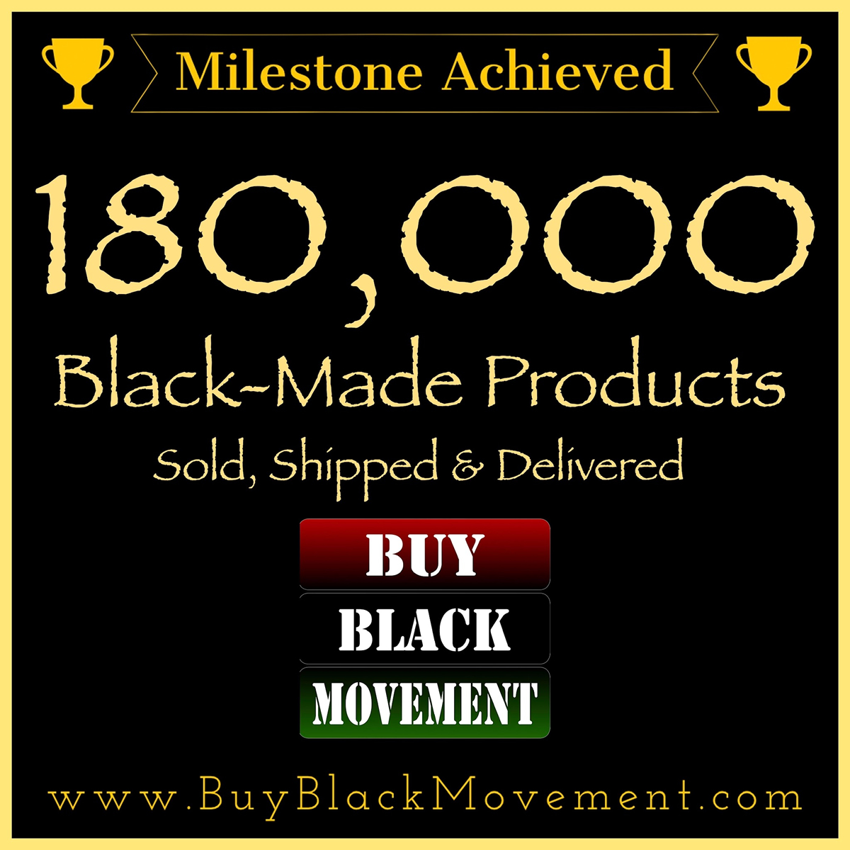 180,000 Products Sold