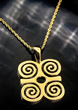 Ram's Horn Adinkra Necklace