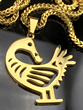 "Sankofa ""Go Get It"" Necklace"