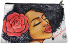 LUV #BlackGirlMagic Cosmetic Bag