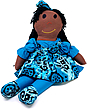Sugarfoots Doll - Blue Nile - Coco Skin