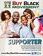 Buy Black Movement Supporter Brochure