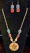 Egyptian Royalty Necklace & Earrings