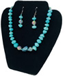 Caribbean Waters Necklace & Earrings