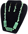 Jade Tranquility Necklace & Earrings