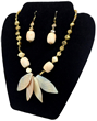 Pearls n Shells Necklace & Earrings