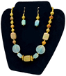 Seascape Necklace & Earrings